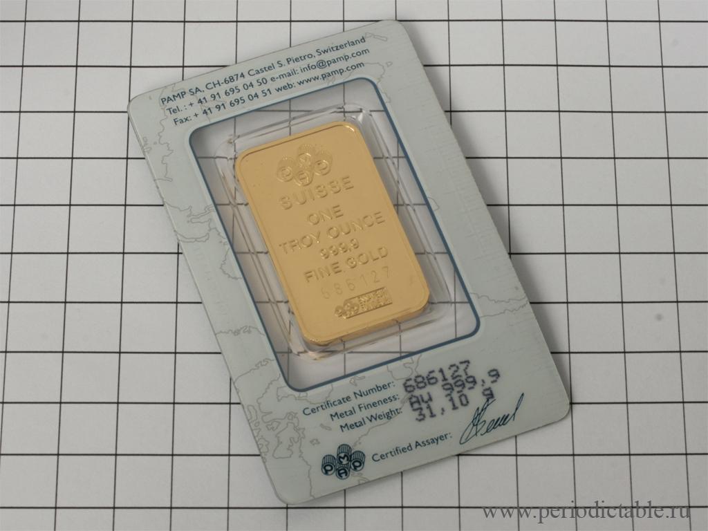 efefa0d81edb Периодическая таблица элементов - Золото